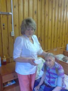 Заплатина Ольга Анатольевна    в сети пансионатов для пожилых «Достойная старость».