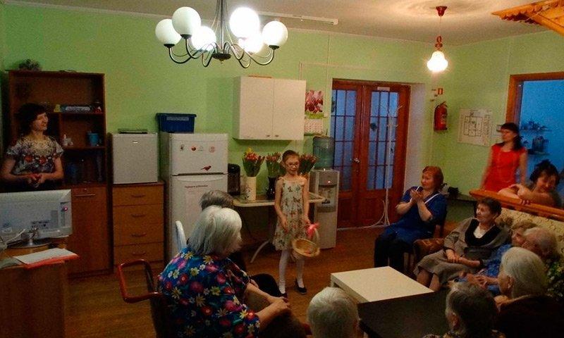 Пансионат для пожилых людей в Екатеринбурге  15   в сети пансионатов для пожилых «Достойная старость».